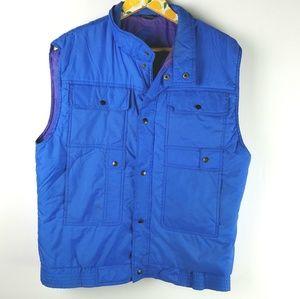 Vintage Puffer Vest Sz M